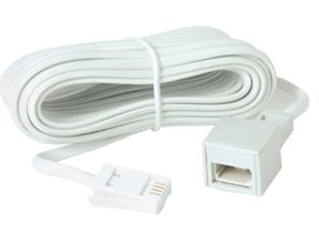 Lindy 35064 White telephony cable