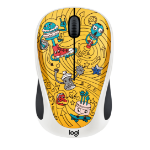 Logitech M238 mice RF Wireless Optical 1000 DPI Ambidextrous