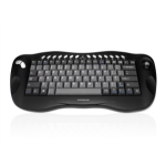 Accuratus Toughball 2 keyboard RF Wireless QWERTY UK English Black, Grey