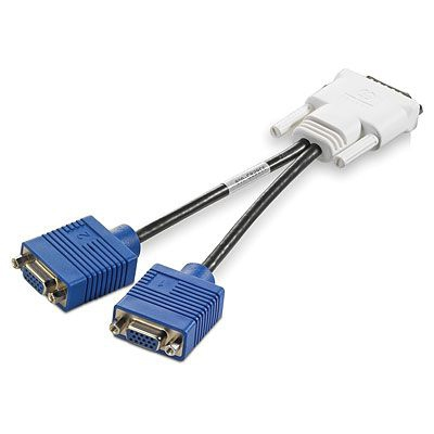 HP DMS-59 to Dual VGA Cable Kit - Black (GS567AA)