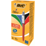 BIC 4 Colours Fine PK12