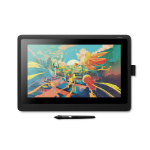 """Wacom Cintiq DTK1660K0A graphic tablet Black 5080 lpi 13.6 x 7.64"""" (345 x 194 mm)"""