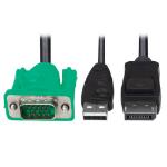 "Tripp Lite P778-006-DP KVM cable Black, Green 72"" (1.83 m)"