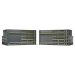 Cisco Catalyst WS-C2960+24PC-S network switch Managed L2 Fast Ethernet (10/100) Power over Ethernet (PoE) Black