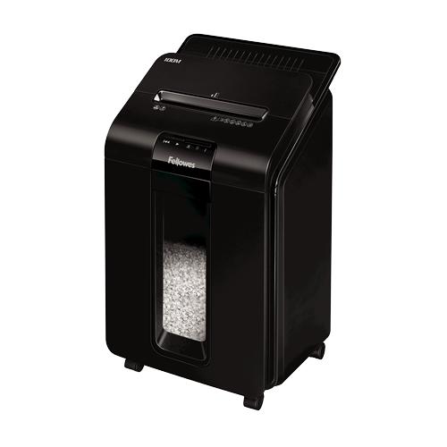 Fellowes 4629201 paper shredder Particle-cut shredding 22 cm Black