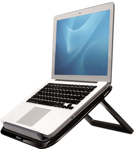 """Fellowes 8212001 notebook stand 43.2 cm (17"""") Black, Grey"""