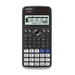 Casio FX-991EX Pocket Scientific Black, White calculator
