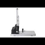 Rexel HD4150 Ultra Heavy Duty 4 Hole Punch Silver/Black