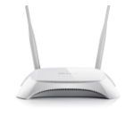 TP-LINK TL-MR3420 Fast Ethernet Black,White wireless router