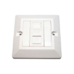 Cables Direct UT-8701 wall plate/switch cover White