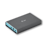 "i-tec C31MYSAFEU315 behuizing voor opslagstations 2.5"" HDD-/SSD-behuizing Grijs, Turkoois"