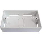 Cablenet 72 2657 White outlet box