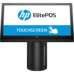"HP ElitePOS G1 Retail-System, Modell 141 35.6 cm (14"") 1920 x 1080 pixels Touchscreen 2.2 GHz 3965U All-in-one Black"