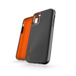 """GEAR4 Battersea mobiele telefoon behuizingen 15,5 cm (6.1"""") Hoes Zwart, Oranje"""