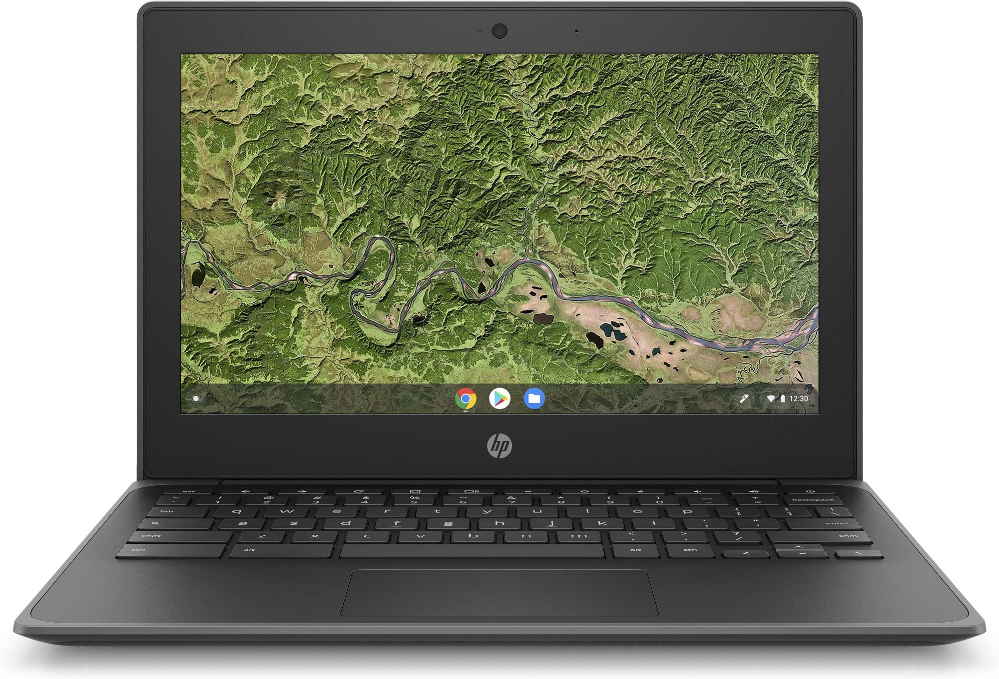 "HP Chromebook 11A G8 EE Gray 29.5 cm (11.6"""") 1366 x 768 pixels Touchscreen AMD A4 4 GB DDR4-SDRAM 32 GB eMMC Wi-Fi 5 (802.11ac) Chrome OS"