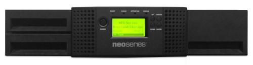 Tandberg Data NEOs T24 tape auto loader/library 60000 GB 2U Black