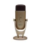 Arozzi Colonna Table microphone Wired Gold