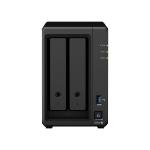 Synology DiskStation DS720+ NAS Desktop Ethernet LAN Black J4125 DS720+ + 2XST4000NE001