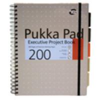 Pukka A4P EXEC MET PROJECT BOOK ASSTD