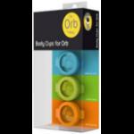 Fitbug FB169BCMUL activity tracker accessory Clip Blue, Green, Orange