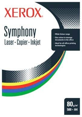 Xerox Symphony 80 A4 Mid Blue Paper CW printing paper