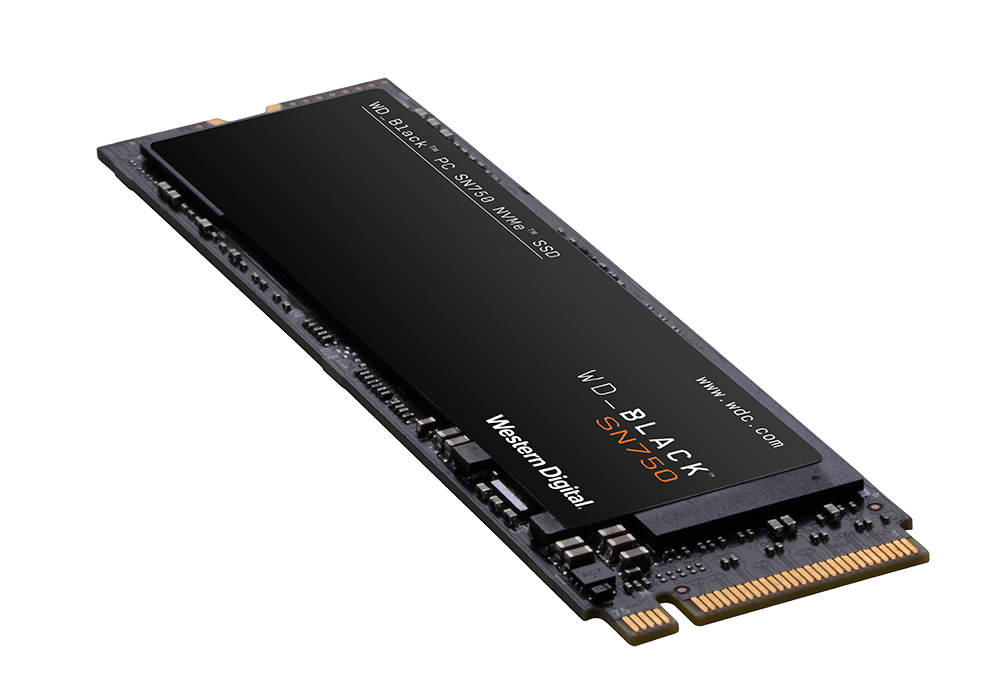 Western Digital SN750 M.2 2000 GB PCI Express 3.0 NVMe