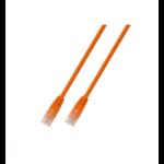 Microconnect 5m Cat5e RJ-45 networking cable Orange U/UTP (UTP)