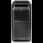 HP Z8 G4 DDR4-SDRAM 4214R Tower Intel® Xeon® Gold 64 GB 1512 GB HDD+SSD Windows 10 Pro for Workstations Workstation Black