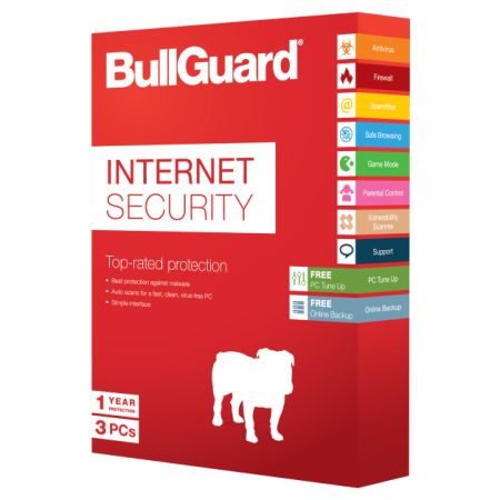 Bullguard Internet Security V13 2014 1 Year 3 User (Download)