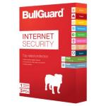 BULLGUARD Internet Security V14, Retail, 3 User Licence, 5GB Online Backup