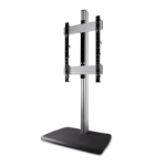 "B-Tech BTF843 2.16 m (85"") Fixed flat panel floor stand Black,Silver"