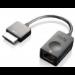 Lenovo 4X90K06975 cable gender changer OneLink+ RJ45 Black