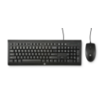 HP C2500 keyboard USB QWERTY Black