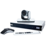Polycom RealPresence Group 500-720p: Group 500 HD codec, EagleEyeIV-12x camera, mic array, univ. remote, NTS