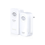 TP-LINK TL-WPA8630P KIT PowerLine network adapter 1200 Mbit/s Ethernet LAN Wi-Fi White 2 pc(s)