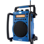 Sangean Digital AM/FM Utility Radio Portable Digital Blue radio