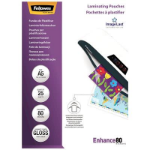 FELLOWES LAMINATING POUCH A5 80 MICRON GLOSS PACK 25