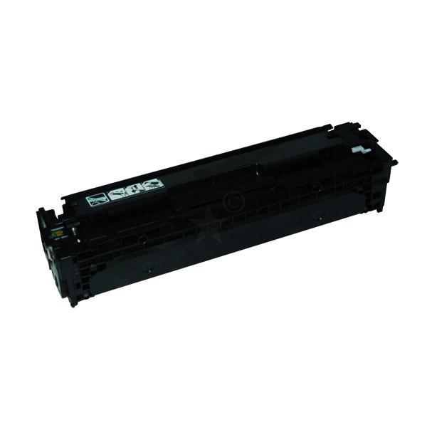 Remanufactured HP CB540A (125A) Black Toner Cartridge