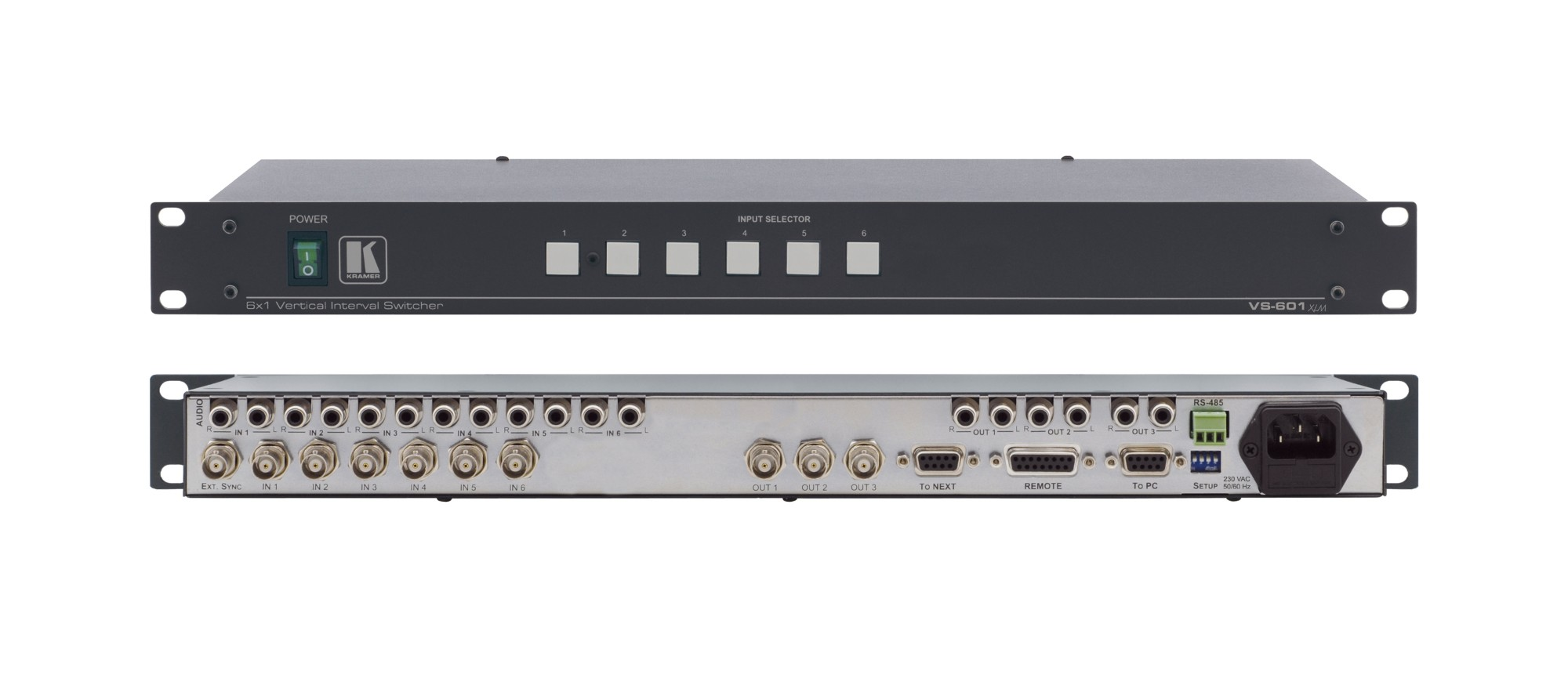 Kramer Electronics VS-601XLM BNC video switch