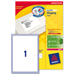 Avery L7167-250 White 250pc(s) self-adhesive label