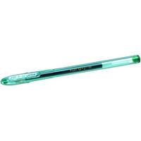 Pilot G107 Green Gel Rollerball 0.7mm tip PK12