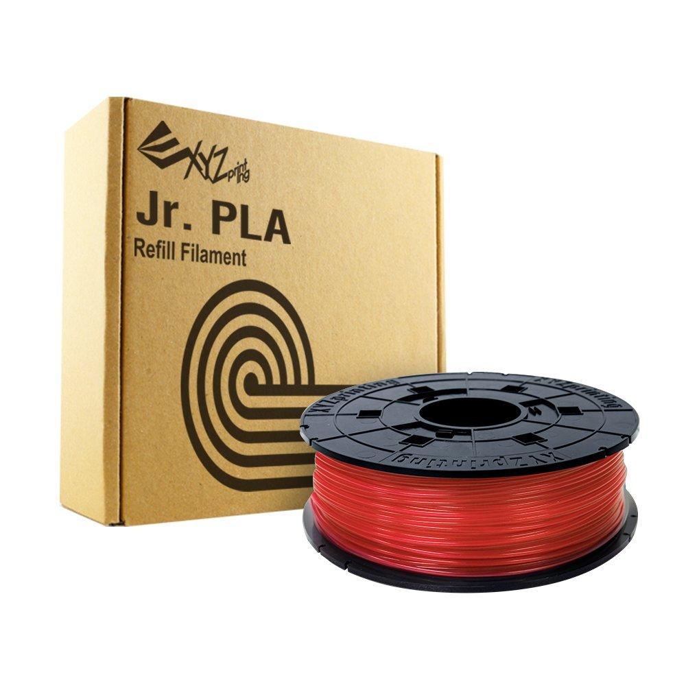 Pla Filament Junior Clear Red Rfplcxeu02a 1.75mm 600g