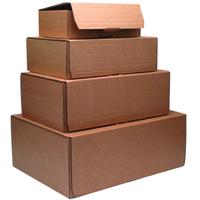 FSMISC MAILING BOX 250X175X80MM BRN PK10