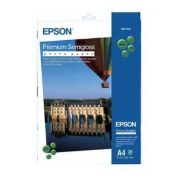 Epson Premium Semi-Gloss Photo Paper - A4 - 20 hojas