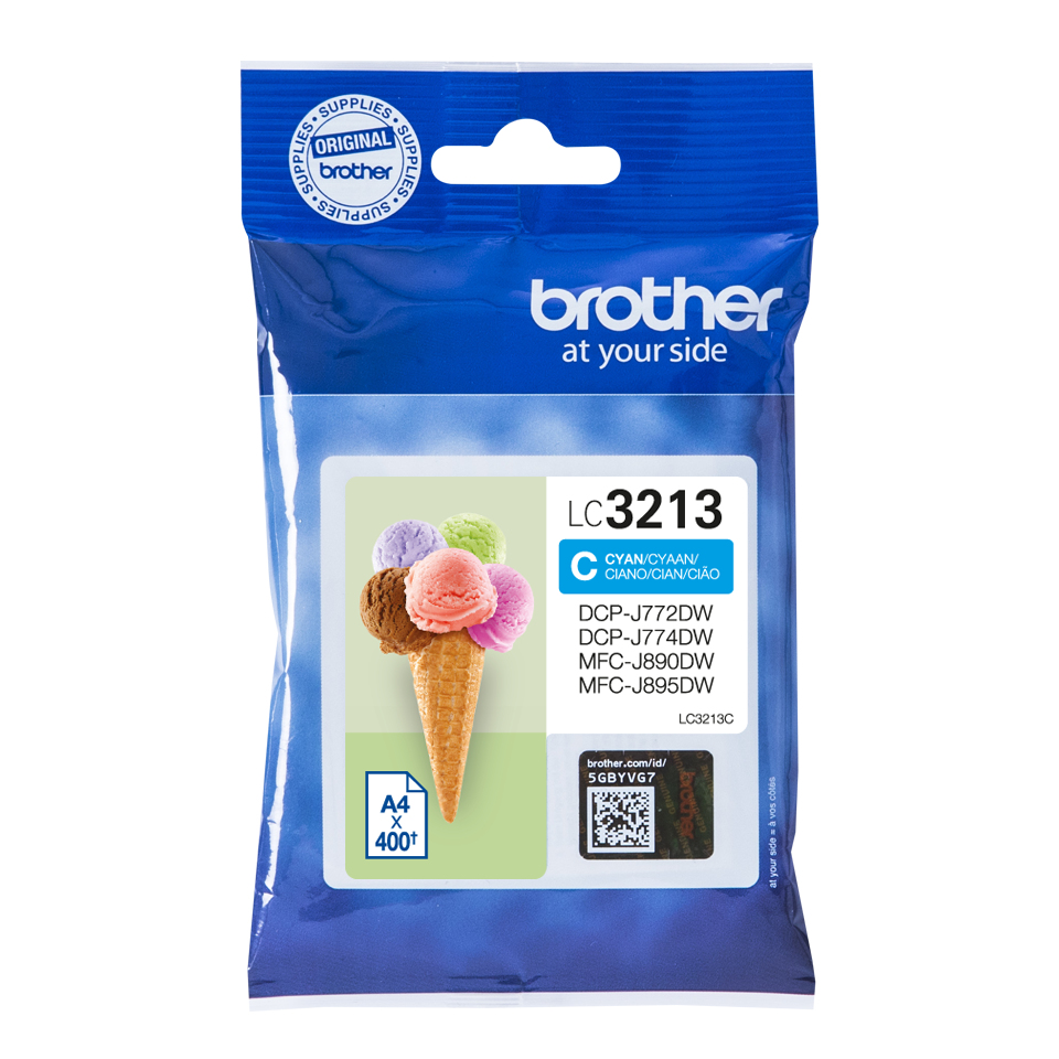 Brother LC-3213C cartucho de tinta Original Cian