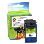 Remanufactured HP 22XL Colour Ink Cartridge