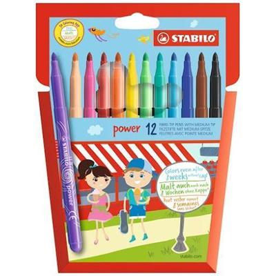 STABILO Power felt pen Medium Multicolor 12 pc(s)