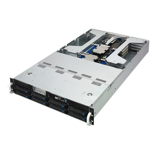 "ASUS ESC4000 G4 - Server - rack-mountable - 2U - 2-way - RAM 0 GB - SATA - hot-swap 3.5"" - no HDD -"