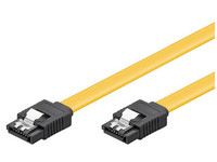 Microconnect SAT15003C6 SATA cable 0.3 m Yellow