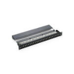 Equip 24-Port Cat.5e Shielded Patch Panel, Black